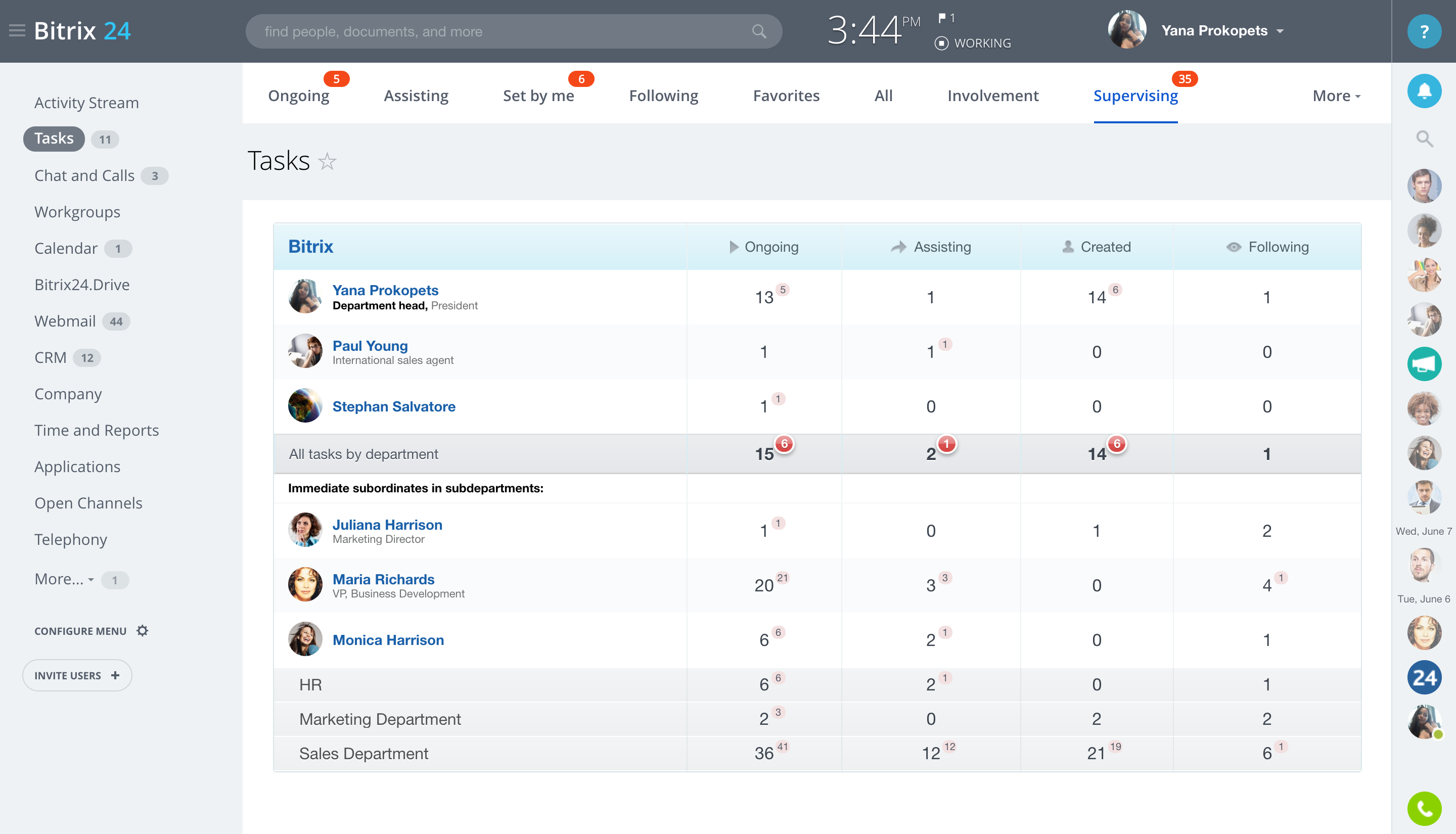 Free web based task management software
